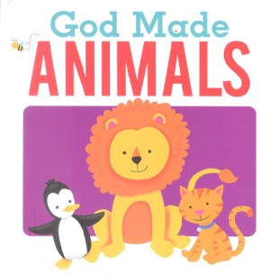 God Made Animals (White) (Kids Story Book)