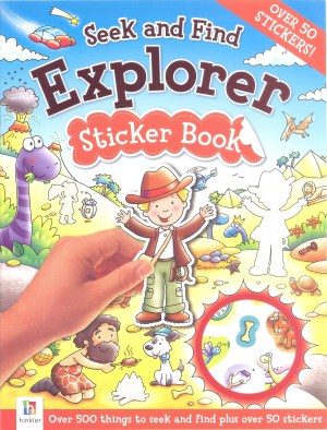 Seek and Find – EXPLORER Sticker Book (Kids Story Books)