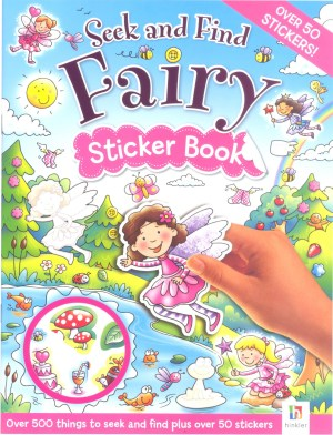 Seek and Find - FAIRY Sticker Book