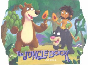 JUNGLE BOOK – A Pop-Up Book 2 (Kids Activities)