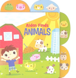 Educational Tab Series - Aiden Finds Animals (Kid's Educational Books)