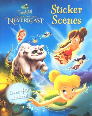 Disney Sticker Scenes – TINKERBELL & The Legend of the Neverbeast (Kids Activities)