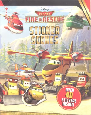 Disney Sticker Scenes – PLANES FIRE & RESCUE (Kids Activities)