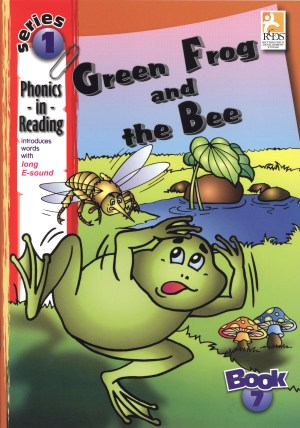 Phonics in Reading Series 1: Book 7 - Green Frog & the Bee (Kid's Educational Books)