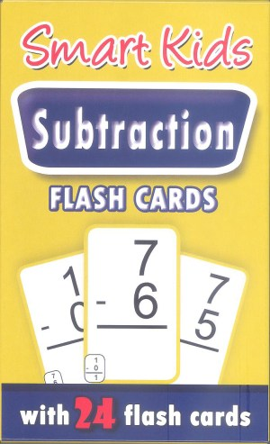 Smart Kids FLASH CARDS- SUBTRACTION (Kid's Educational Books)