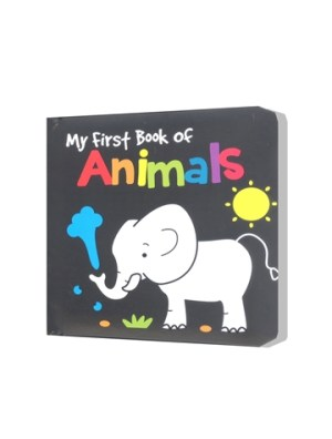 BLACK AND WHITE BOOK - ANIMALS (Kid's Educational Books)