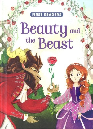 FIRST READERS Series - BEAUTY & THE BEAST (Kids Story Book)