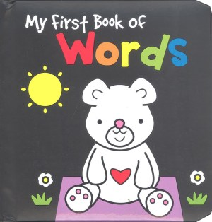 BLACK AND WHITE BOOK - WORDS (Kid's Educational Books)