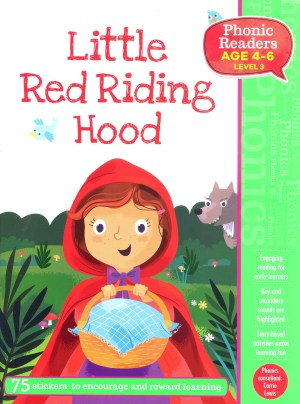 Little Red Riding Hood - Phonic Readers Age 4-6, Level 3 (Kid's Educational Books)