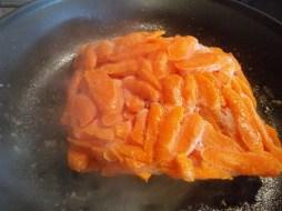 carrots in pot