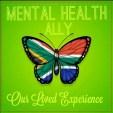 mental health ally button