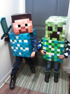 The Minecraft familia