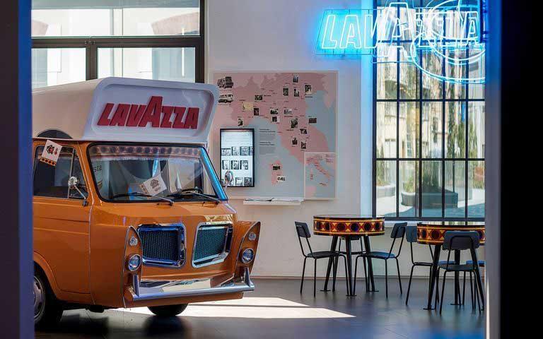 lavazza museum turin