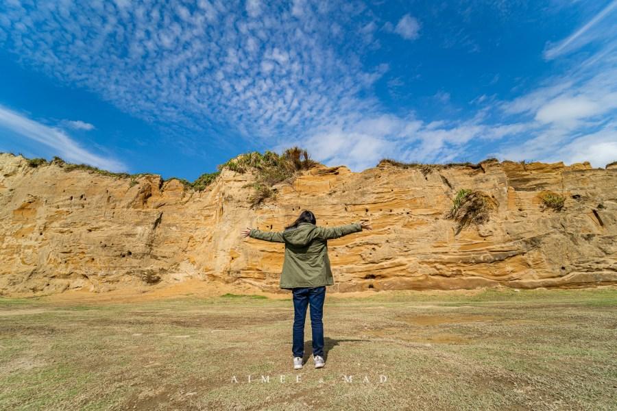 【桃園.林口】台灣也有大峽谷!看黃沙峭壁、賞海景、越野賽車表演和水牛慢行