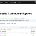 Ourlocality Support Forum