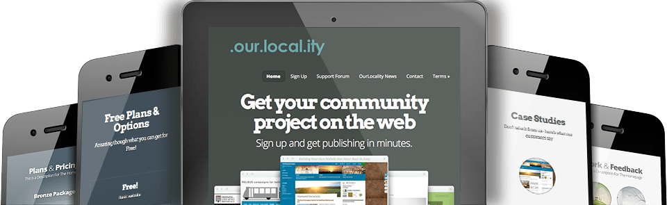 Startups, blogs and other projects welcome