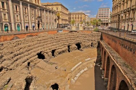 Amphithéâtre romain de Catane