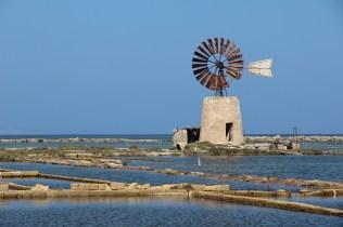 Les anciennes réserves de sel de la Sicile