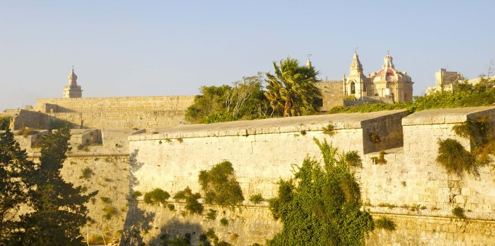 Mdina ville fortifiée