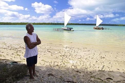 Moyen de transport traditionnel des pêcheurs kunié