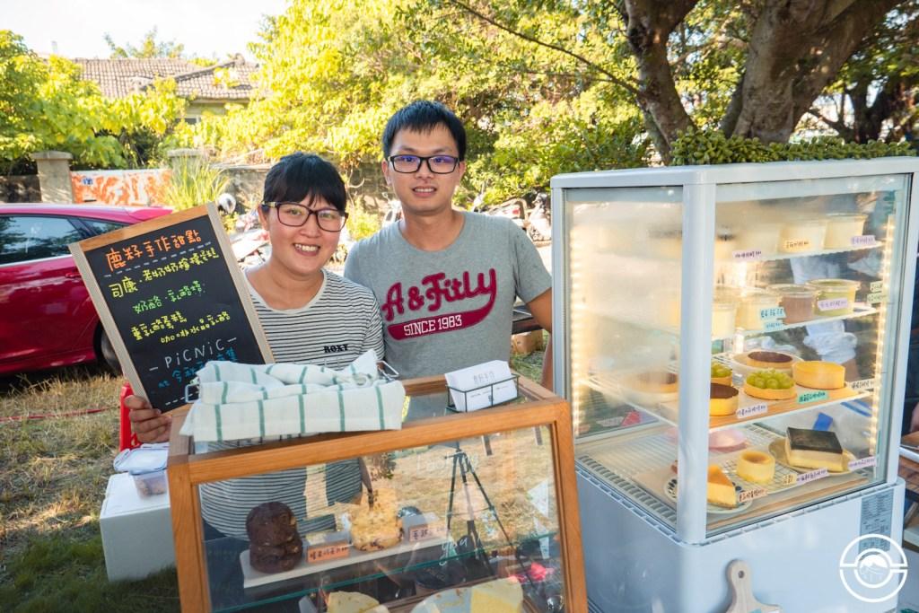 共同創業賣甜點的年輕夫妻
