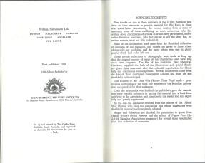 1000 Men at War 2-16th Malcolm Uren Publishing Page