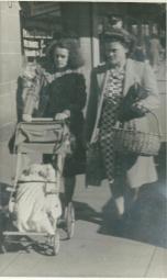 Shirley Latta nee Tuckerman Mabel Tuckerman Baby Linda Latta
