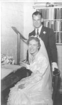 Wedding of Joan Callcott and Ross Adams 19 Dec 1953