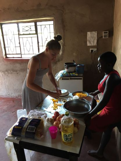 A super basic African kitchen couldn't cope with making pasta...
