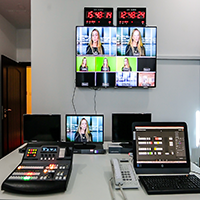 Any type of Talk shows, Cooking Show, VJ based music shows etc  can be produced at our Chroma supported studio with an option for using a live background depending on the idea or clients requirements.