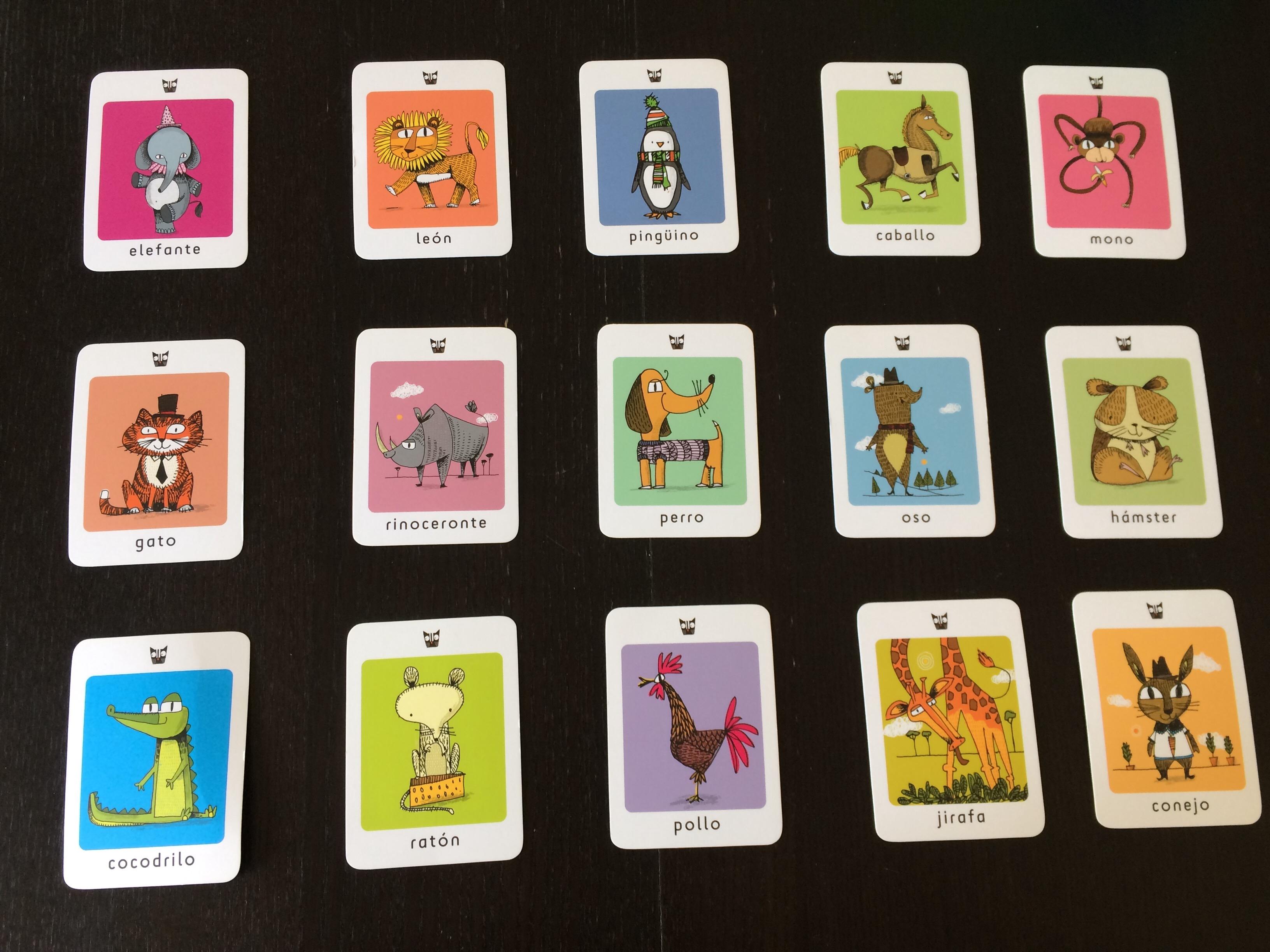 Memory Card Game Ideas