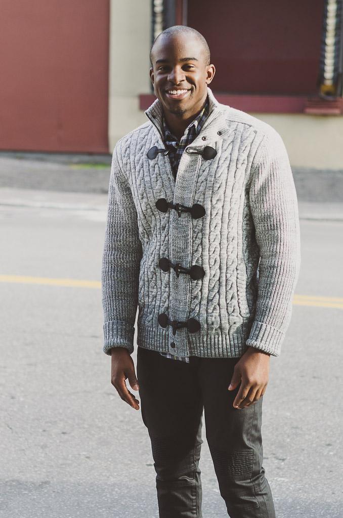 express mens, toggle sweater, mens fashion sweater, fall fashion, ottawa fashion, moto jeans