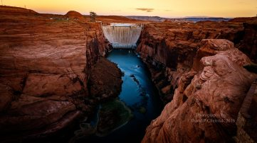 glen-canyon-dam-at-sunrise