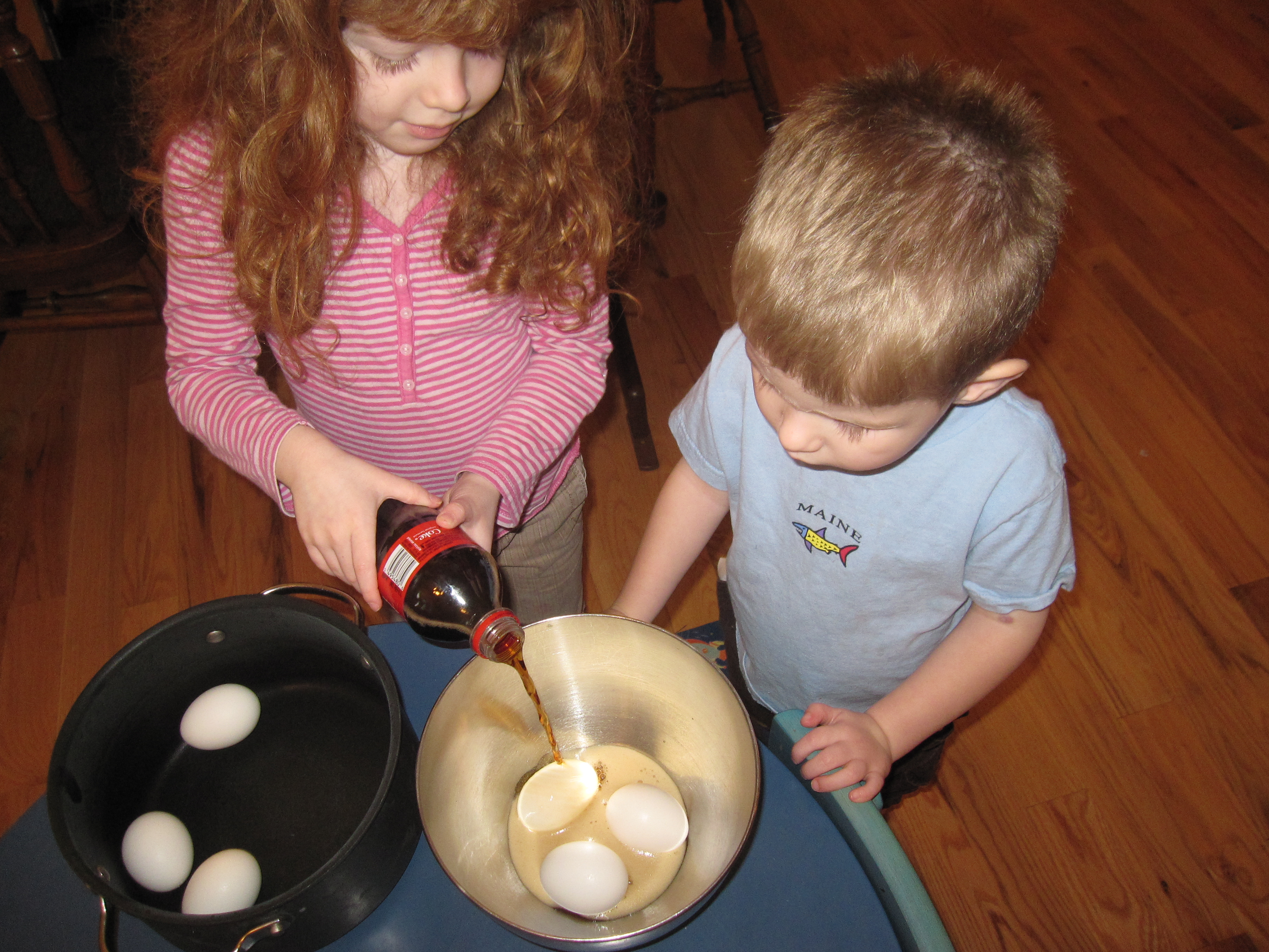 The Soda And Egg Brushing Experiment