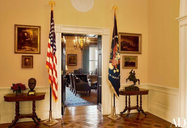 the white house treaty-room
