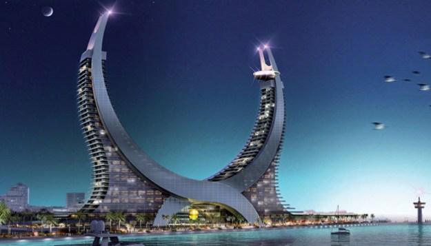 Lusail Katara Hotel in Doha, Qatar -ourmotivations.com