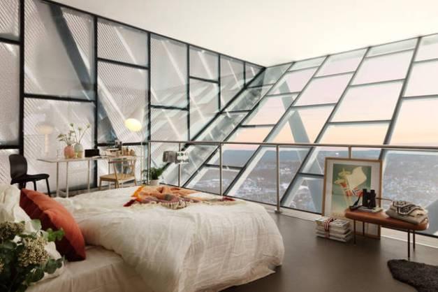 Luxury penthouse opened at the top of Holmenkollen ski jump 1