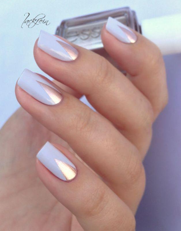 metallic nail designs to try now 5