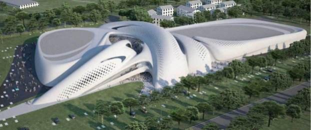 Futuristic Architecture- Jesolo Magica by Zaha Hadid Architects 2
