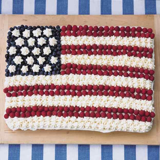 4th of July flag fruit dessert 7
