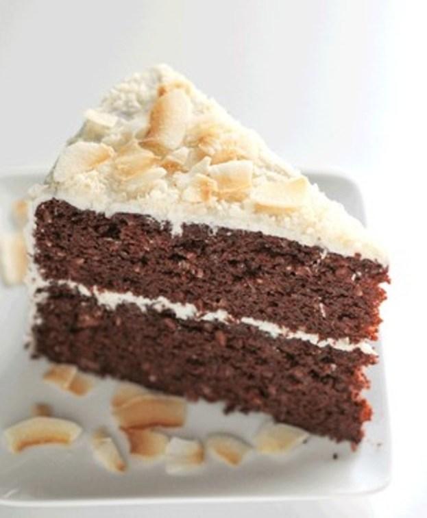Healthy Chocolate Coconut Cake