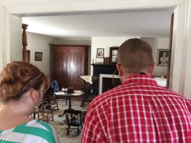 Inside the McClean House