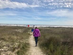 A different kind of trail...Galveston Island, TX