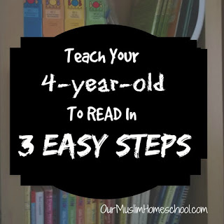 Teach Your Four-year-old To Read