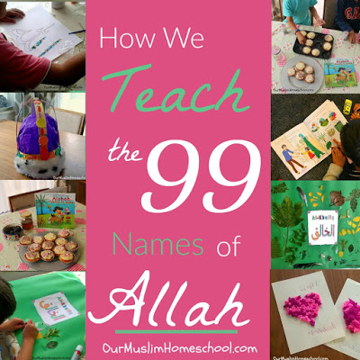 How we Teach the 99 Names of Allah