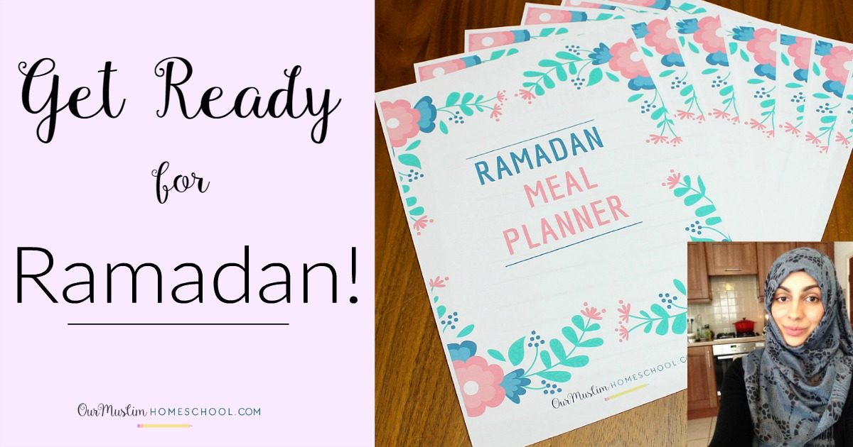 Meal Planning for Ramadan + FREE Printable