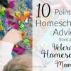Homeschooling advice from veteran homeschool mom