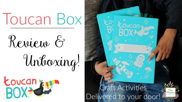 Toucan box review unboxing