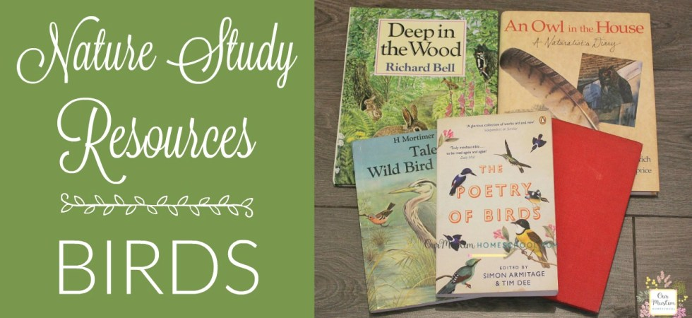Birds Nature study resources