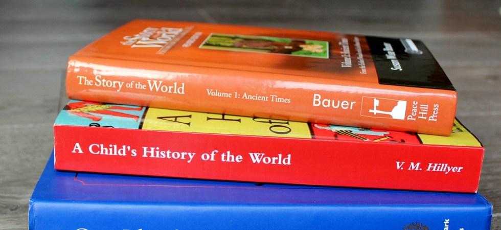 Homeschool history living curriclum